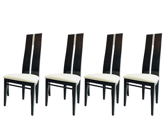 #3869 Set of Four Costantini Chairs