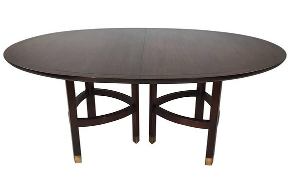 #1631 Mahogany Dining Table by Baker Furniture