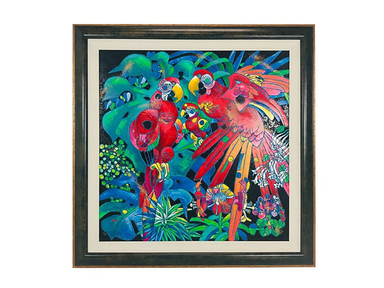 "#4334 ""Birds of Paradise"" Tie-Feng Jiang"