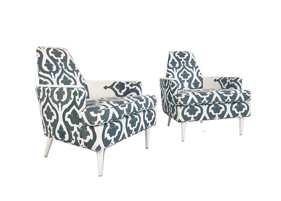 #4721 Pr Armchairs in Style of Adrian Pearsall