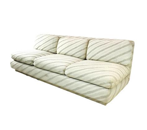#5206 Marge Carson Slipper Sofa