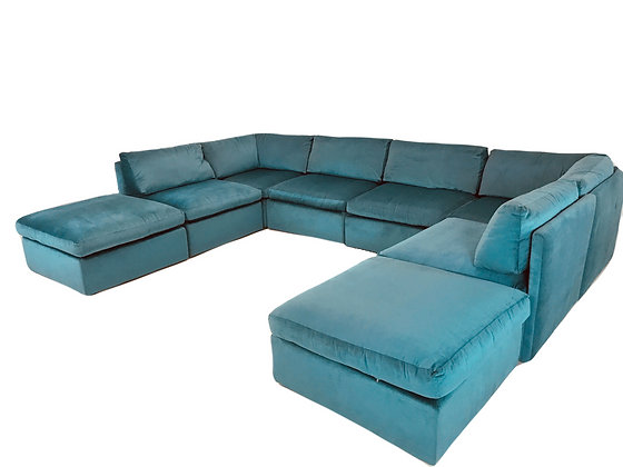 #4599 Milo Baughman Modular Sofa