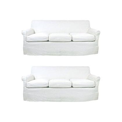 #5718  De Angelis Custom Sofa (2 Available)