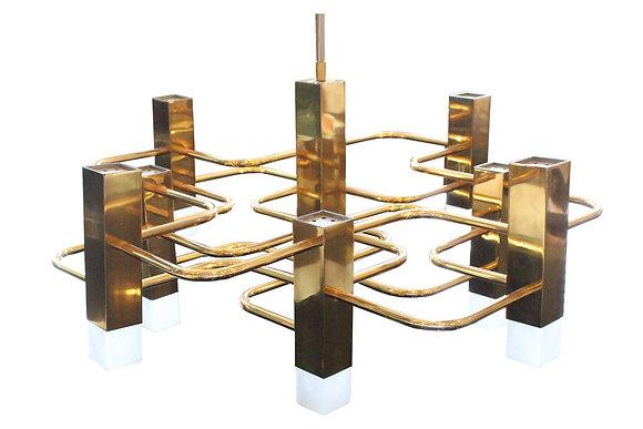 #8766 Brass Sciolari Chandelier