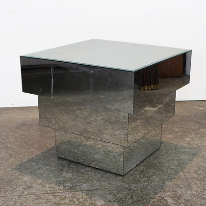 #7333 Mirrored Side Table