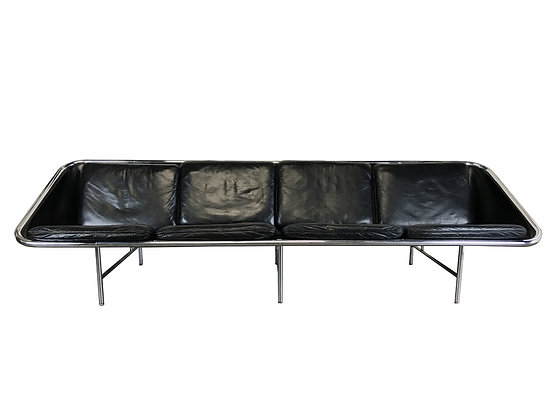 #3322 George Nelson Leather Sofa for Herman Miller