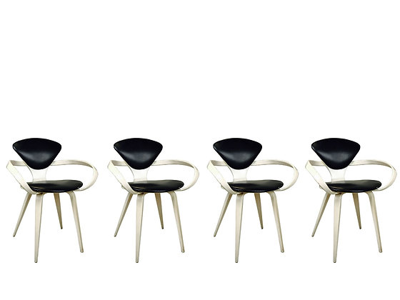 #3084 Set of 4 Cherner Armchairs