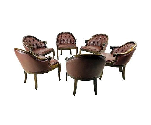 #5239 Set 6 Monteverdi-Young Armchairs