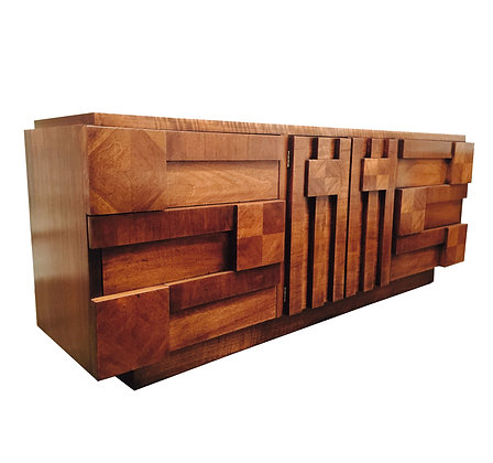 #1038 Brutalist Dresser by Lane
