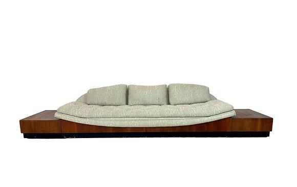 #5381 Adrian Pearsall Platform Gondola Sofa & Side Tables