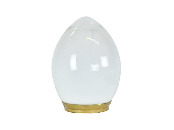 #8619 Large Murano Egg Lamp by Vistossi