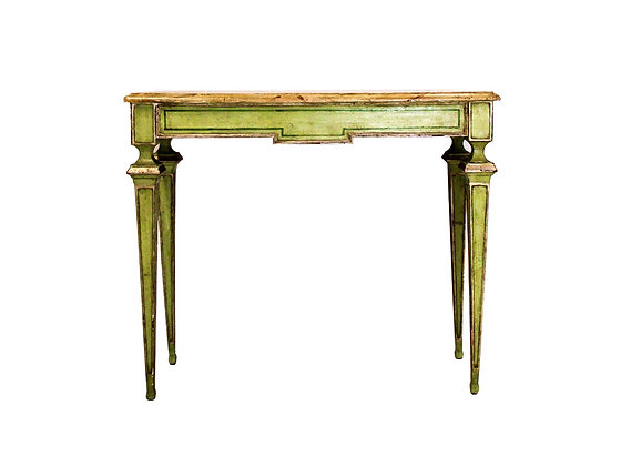 #3105 Tall Thin Leg Italian Console Table