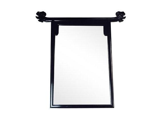#3463 Black Pagoda Mirror
