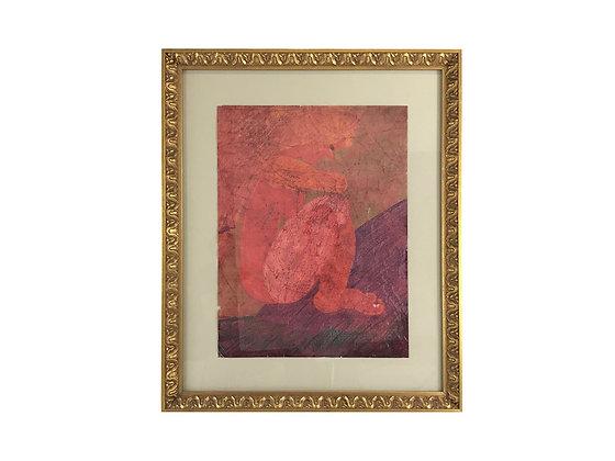 #3582 Crumpled Lady Art