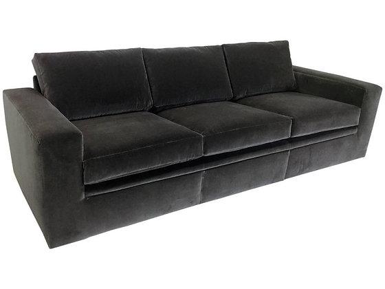 #802 Newly Upholstered Milo Baughman Sofa