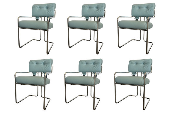 #1141 Set of 6 Marani Dining Chairs for Pace
