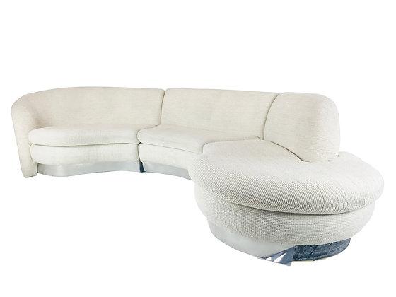 #3934 Three Piece Sectional Cloud Kagan Sofa