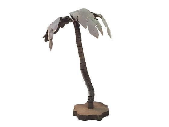 #1465 Metal Palm Tree