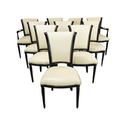 #4900 Set of 10 Dining Chairs
