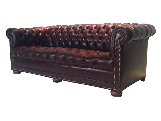 #2007 Chesterfield Leather Sofa