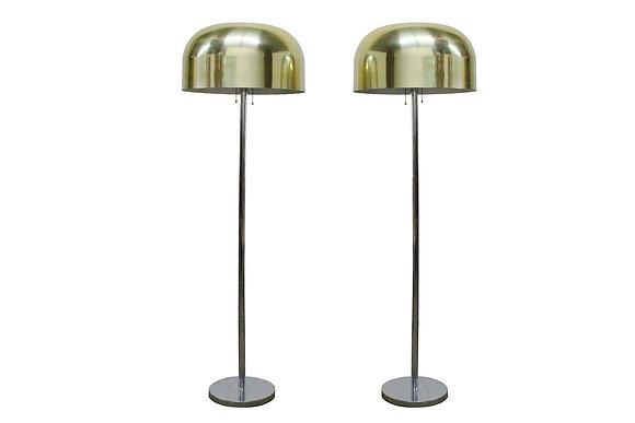 #8507 Pair of Laurel Dome Lamps