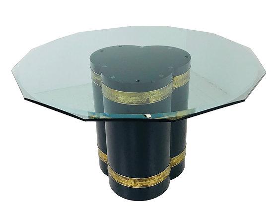 #3745 Mastercraft Pedestal DiningTable