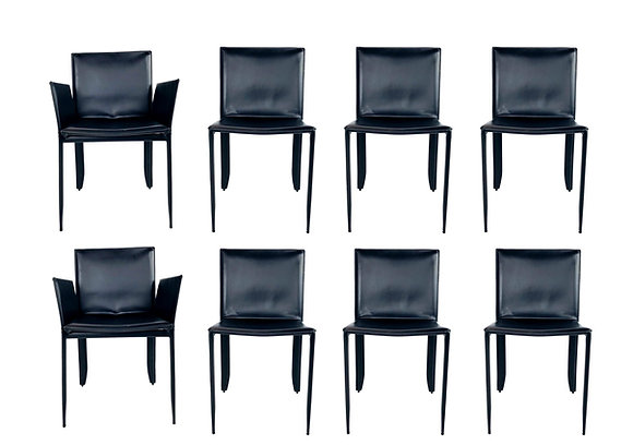 #5522 Set of 8 Cattelan Italia Piuma Dining Chairs
