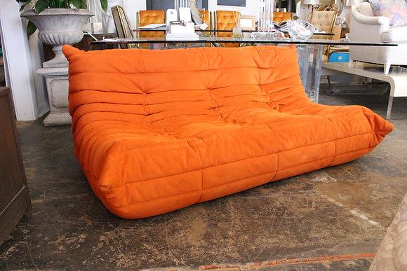 """#1115 70s """"Togo"""" Sofa by Ligne Roset"""