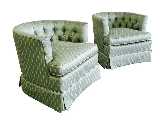 #2214 Mint Green Pineapple Chairs