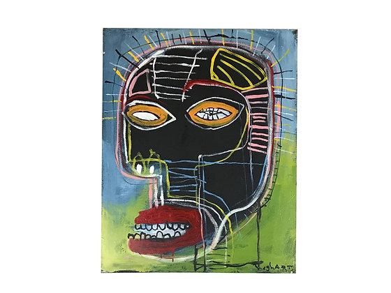 #3003 Basquiat Style Art