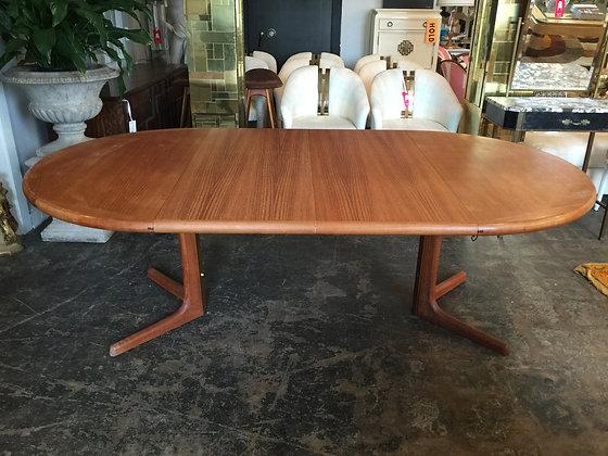 #1411 Teak Danish Dining Table by Drylund