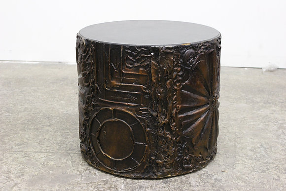 #1161 Brutalist Side Table by Adrian Pearsall