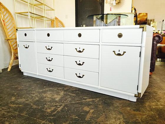#8515 White Lacquer Drexel Dresser