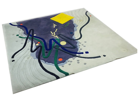 #3020 Memphis Style Abstract Area Rug