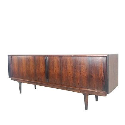 #4830 Jacaranda Rosewood Sideboard by Gunni Omann for Omann Jun Mobelfabrik
