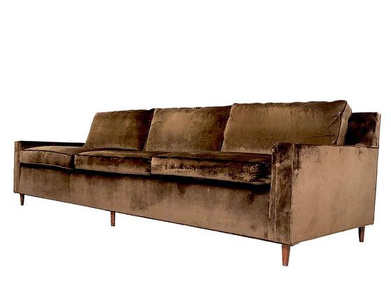 #4191 Dunbar Style MCM Three Cushion Sofa (One Available)
