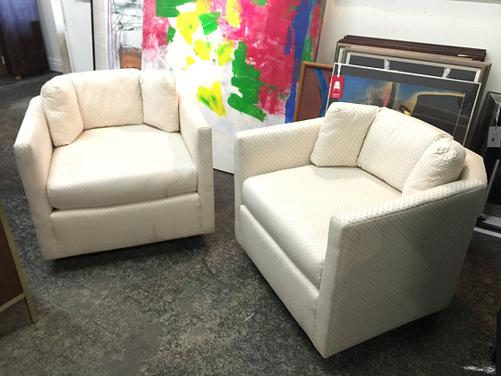 #1009 Pair Hexagon Chairs
