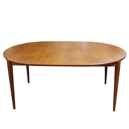 #7689 Danish Teak Dining Table