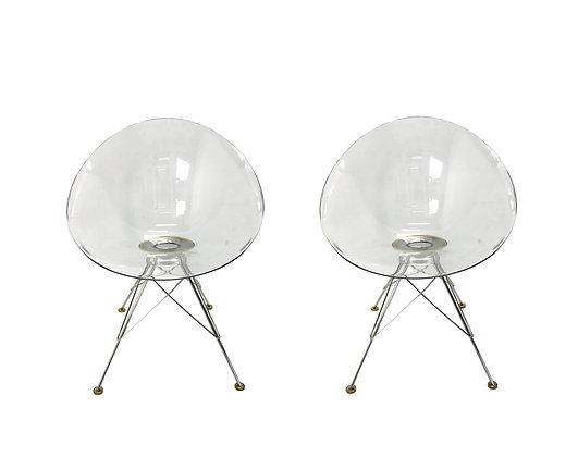 "#4583 Pair ""Eros"" Chairs by Philippe Stark"