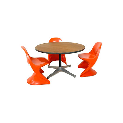 #4844 Herman Miller Kids Table & Casalino Chairs by Agenader Begge for Casal