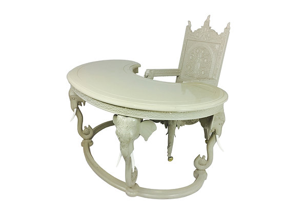 #2267 Regency Elephant Desk & Chair