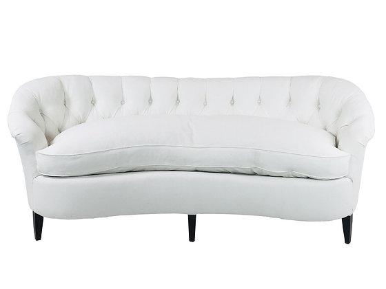 #2694 Kidney Tufted Sofa