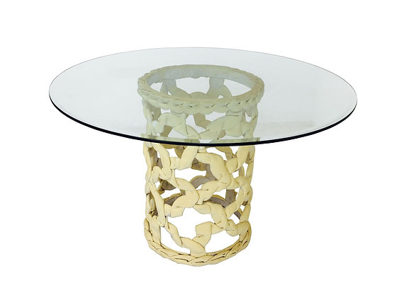 """#2806 """"Ribbon"""" Dining Table by Tony Duquette"""