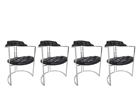 #2471 Set of 4 Daystrom Dining Chairs
