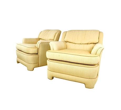 #5288 Pair of 1980s Marge Carson Armchairs