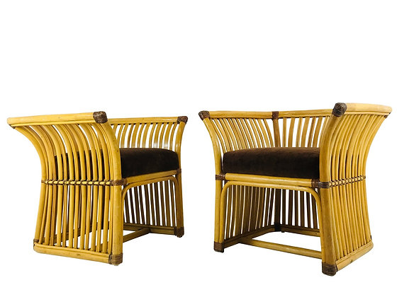 #3800 Handsome Lounge Chairs by Ficks Reed