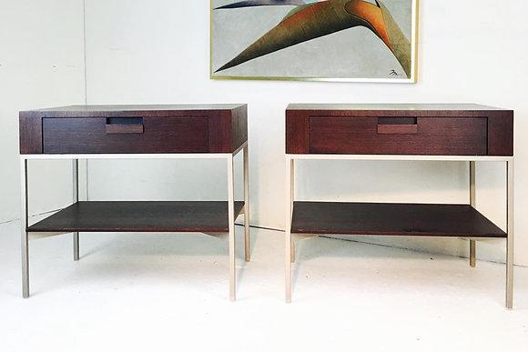 #1352 Pair B&B Italia Side Tables