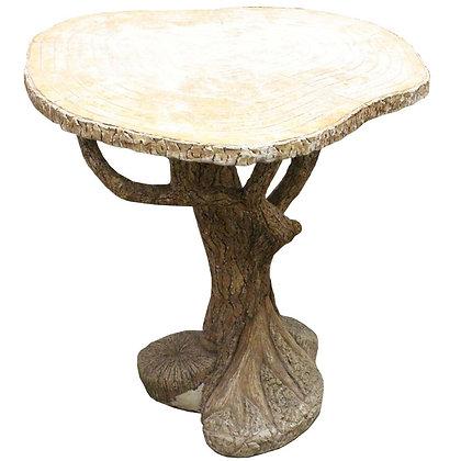 #8730 Faux Bois D'Arc Concrete Table