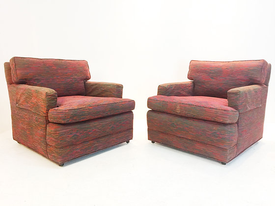 #1811 Pair Dunbar Armchairs