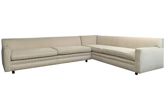 #1630 2PC Sectional Sofa-Style of Harvey Probber